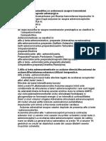 Examen Farmacologie Anul III (Sem II)