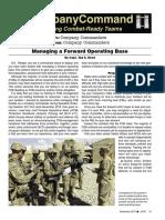 Cc Army (Nov2014) Managing a Fob