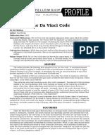 Davinci Code Profile