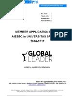 Form Global Leader Application