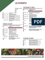 XC World Cup Albstadt Zeitplan