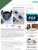 Herbs Blauwe Thee Voor Natuurlijk Gewichtsverlies - Gezonder Leven