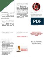Leaflet Rokok Bagi Ibu Hamil