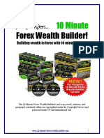 10 Minutes Forex Wealth Builder by Dean Saunders