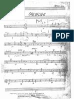 Peter Pan Musical Band Part - Bass