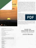 Achille Mbembe - Sair Da Grande Noite