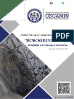 Tecnicas de Voladura en Mineria Subterranea y Superficial