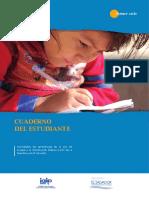 Ley de Acceso a la Información Pública - Cuaderno del Estudiante - Parvularia