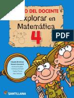 GD Explorar en Matemática 4