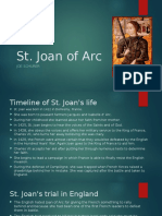 saints presentation joan of arc