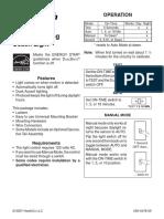 DualBrite® Motion Sensing Coach Light