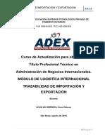 Trazabilidad Importacion Exportacion Documentacion