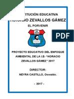 Plan Ambiental i.e .h.zg.2016