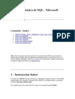 Guía Muy Básica de SQL