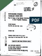 Status of Foil Bearings 1980 NASA