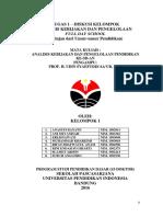 Full Day School S3 Pendas UPI
