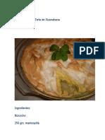 Recopilación de Torta de Guanabana