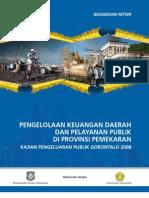 Gorontalo PEA Report_Final 14032008