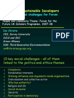 Society for Sustainable Developers