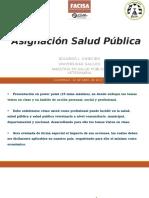 Tarea Salud Pública - 22 Abril 2017
