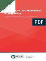 Compendio Crímenes de Lesa Humanidad en Argentina