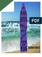 psa announcement-recycling