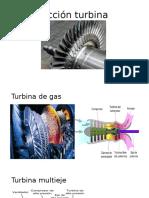 Sección turbina