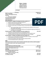 updated resume 5 21 17