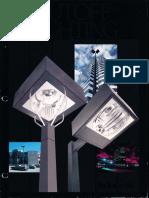 Lithonia Outdoor Cutoff Lighting Series Brochure 1984