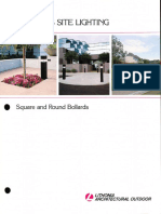 Lithonia Outdoor KB Series Bollard Brochure 1-89