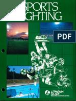 Lithonia Sports Lighting Brochure 1985