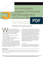 5 Communication Strategis to Promote Self Management p12