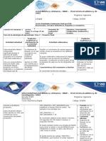 Guía de Actividades y Rúbrica de Evaluación - Paso 7 - Proyecto Final