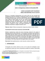 Considerações Sobre a Insegurança Urbana Em Dourados-ms