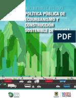 Documento Ejecutivo Política Distrital de Ecourbanismo Bogotá