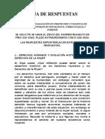 HOJA de RESPUESTA Examen Del Curso de Especialización en Feminicidio y Violencia de Género 1