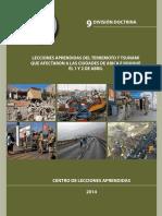 9 Lecciones Aprendidas Del Terremoto y Tsunami Que Afectaron a Las Ciudades de Arica e Iquique El 1 y 2 de Abril