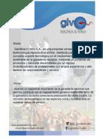 Genetica in Vitro, C.a.-presentación