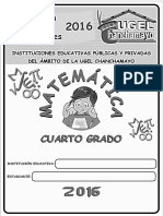 Matemática III - 4ª Grado