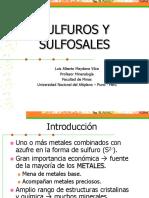 Clase 11. Sulfuros y Sulfosales (1)