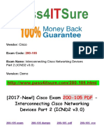 [New!] 2017 Pass4itsure Cisco-200-105 Dumps PDF with The Knowledge And Skills