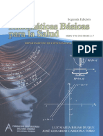 Matematicas Basicas Para La Salud
