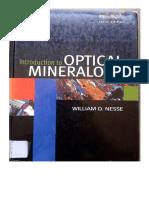 39edj34ks Nesse Introduction to Optical Mineralogy 3th Edition PDF
