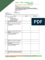 Formulir Laporan Bulanan k3