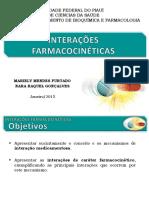 Interações Farmacocinéticas