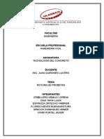 Tecnologia Del Concreto Informe Final