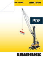 Liebherr Lhm 600 High Rise Mobile Harbour Crane Datasheet English