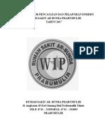 Cover, Daftar Isi Dan Pengantar Lap Insiden