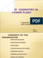 Role of Chemistry in Power Plant.ppt