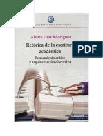 Díaz Rodríguez a. Retórica de La Escritura Académica